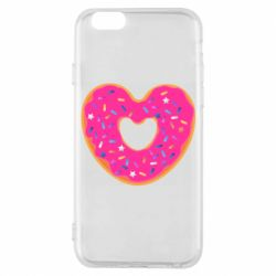 Чехол для iPhone 6/6S Я люблю пончик