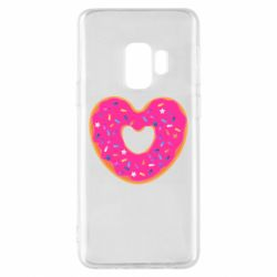 Чехол для Samsung S9 Я люблю пончик