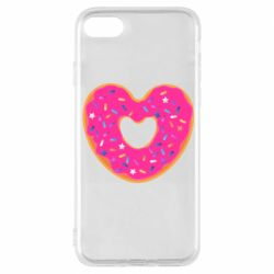 Чехол для iPhone 8 Я люблю пончик