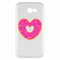Чехол для Samsung A7 2017 Я люблю пончик