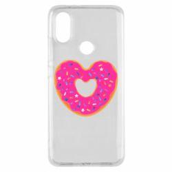 Чехол для Xiaomi Mi A2 Я люблю пончик
