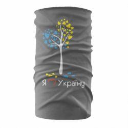 Бандана-труба Я люблю Україну дерево