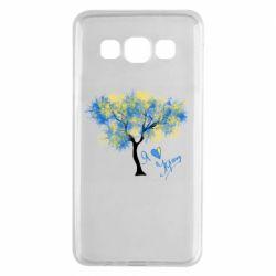 Чохол для Samsung A3 2015 Я люблю Україну і дерево