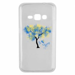 Чохол для Samsung J1 2016 Я люблю Україну і дерево