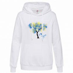 Толстовка жіноча Я люблю Україну і дерево