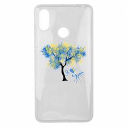 Чохол для Xiaomi Mi Max 3 Я люблю Україну і дерево