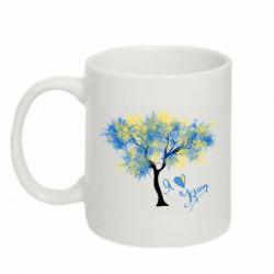 Кружка 320ml Я люблю Україну і дерево