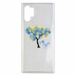 Чохол для Samsung Note 10 Plus Я люблю Україну і дерево