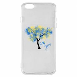 Чохол для iPhone 6 Plus/6S Plus Я люблю Україну і дерево
