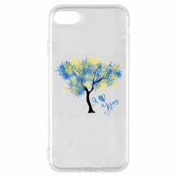 Чохол для iPhone 7 Я люблю Україну і дерево