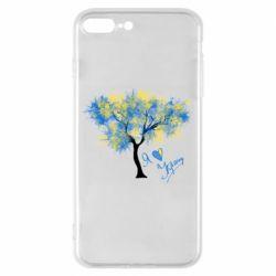 Чохол для iPhone 7 Plus Я люблю Україну і дерево
