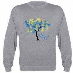 Реглан (світшот) Я люблю Україну і дерево