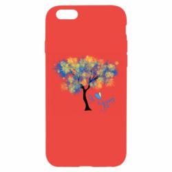 Чохол для iPhone 6/6S Я люблю Україну і дерево