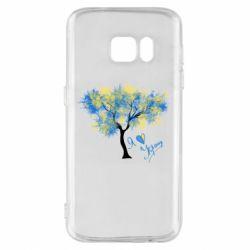Чохол для Samsung S7 Я люблю Україну і дерево