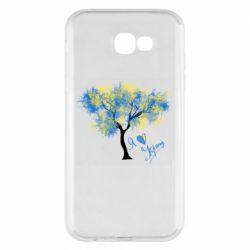 Чохол для Samsung A7 2017 Я люблю Україну і дерево