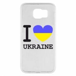 Чохол для Samsung S6 Я люблю Україну