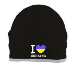 Шапка Я люблю Україну - FatLine