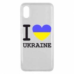 Чехол для Xiaomi Mi8 Pro Я люблю Україну