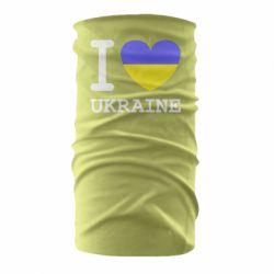 Бандана-труба Я люблю Україну