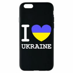 Чохол для iPhone 6/6S Я люблю Україну