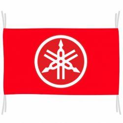 Прапор Yamaha Big Logo