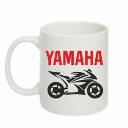 Кружка 320ml Yamaha Bike