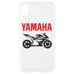 Чехол для iPhone XR Yamaha Bike