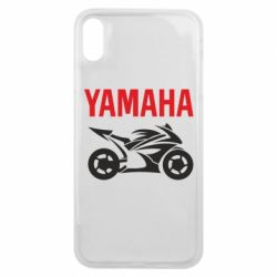 Чехол для iPhone Xs Max Yamaha Bike