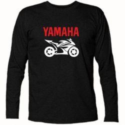 Футболка с длинным рукавом Yamaha Bike - FatLine