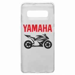 Чохол для Samsung S10+ Yamaha Bike