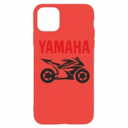 Чехол для iPhone 11 Pro Yamaha Bike