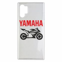 Чехол для Samsung Note 10 Plus Yamaha Bike