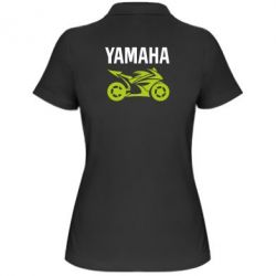 Женская футболка поло Yamaha Bike