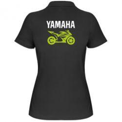 Жіноча футболка поло Yamaha Bike