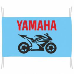 Флаг Yamaha Bike