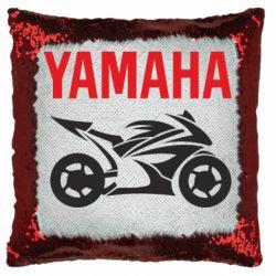 Подушка-хамелеон Yamaha Bike