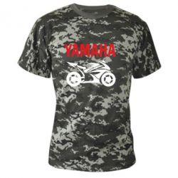 Камуфляжная футболка Yamaha Bike - FatLine