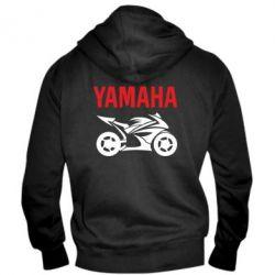 Мужская толстовка на молнии Yamaha Bike - FatLine