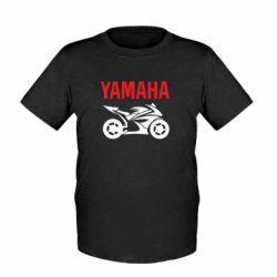 Детская футболка Yamaha Bike