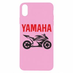 Чехол для iPhone X/Xs Yamaha Bike
