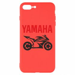 Чехол для iPhone 8 Plus Yamaha Bike