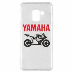 Чохол для Samsung A8 2018 Yamaha Bike