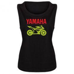 Женская майка Yamaha Bike - FatLine