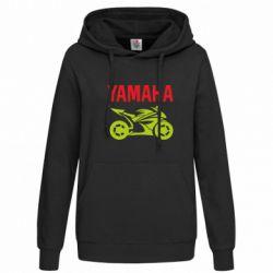 Женская толстовка Yamaha Bike - FatLine
