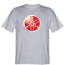 Мужская футболка Yamaha Logo 3D - FatLine
