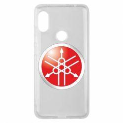 Чохол для Xiaomi Redmi Note Pro 6 Yamaha Logo 3D
