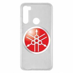 Чохол для Xiaomi Redmi Note 8 Yamaha Logo 3D