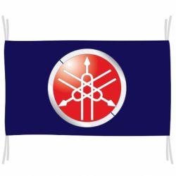 Флаг Yamaha Logo 3D