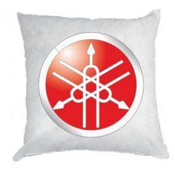 Подушка Yamaha Logo 3D