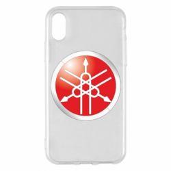 Чехол для iPhone X/Xs Yamaha Logo 3D